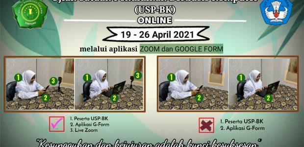 PELAKSANAAN USP-BK TH. PEL. 2020/2021