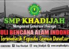 SMP Khadijah Peduli Korban Bencana Alam